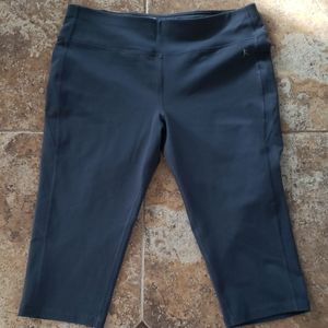 Danskin Now Fitted Athletic Crop Leggings Size L/G